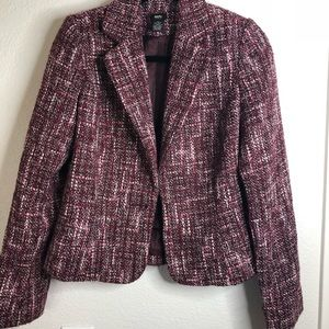 Mossimo One Button Blazer Pink Blend Small